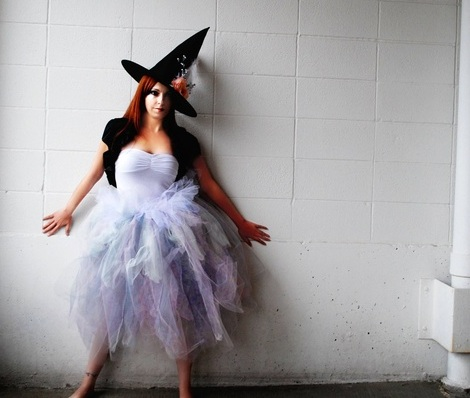 disfraz bruja halloween moderna