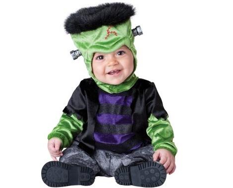 disfraz halloween bebé frankenstein