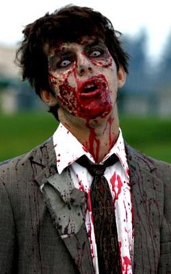 disfraz zombie lentillas