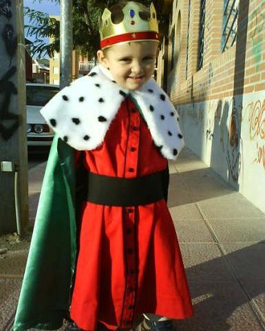 disfraces caseros navidad rey mago