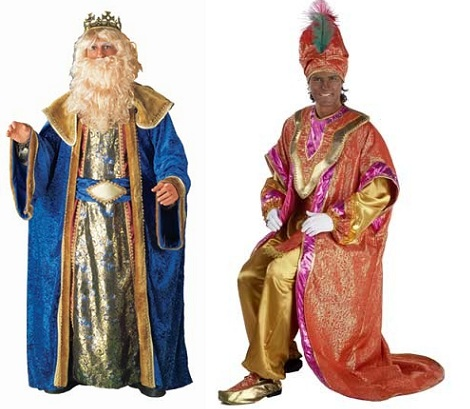 disfraces navidad rey mago