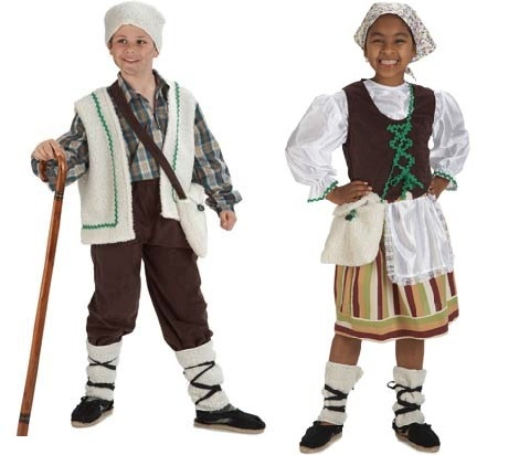 disfraz navidad niño pastorcillos
