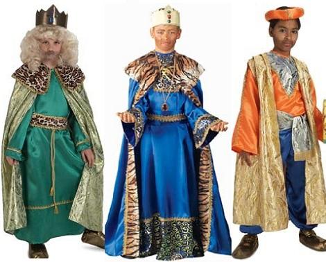 disfraz navidad niño reyes magos