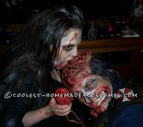 disfraz zombie halloween