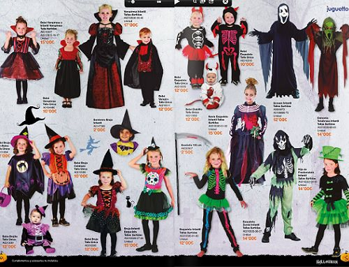 disfraces ninos juguettos halloween 2013