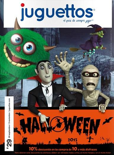 catalogo juguettos halloween 2013