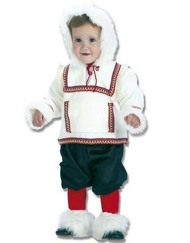 Disfraz de esquimal bebé
