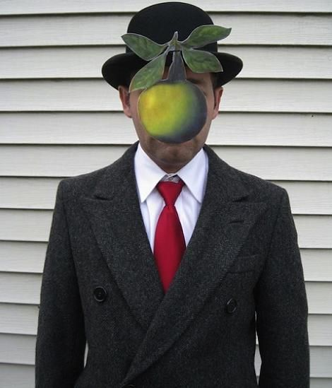 Hombre Magritte