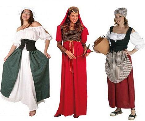 disfraces medievales baratos