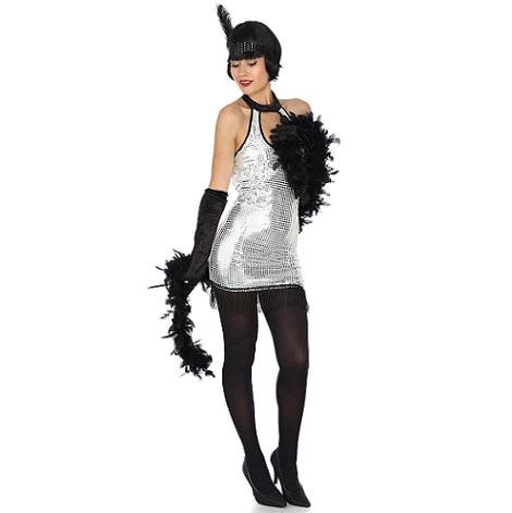 Disfraz de cabaret barato para mujer