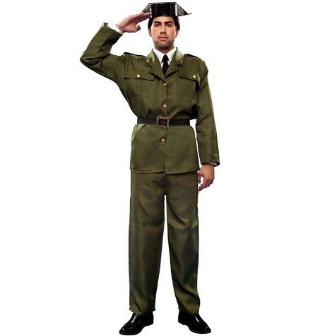 El disfraz de guardia civil tras la polémica