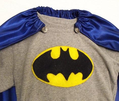 hacer un disfraz casero de batman camiseta