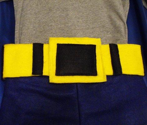 hacer un disfraz casero de batman cinturón