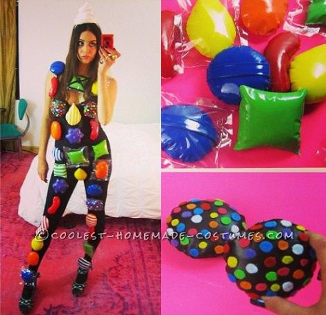Los disfraces caseros más divertidos para el Carnaval 2014 candy crush