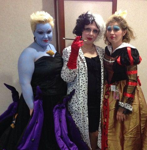 disfraz de brujas de disney