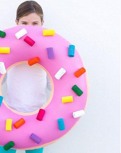 disfraz casero de donut