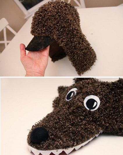 C mo hacer un disfraz de lobo casero paso a paso for Disfraz de lobo feroz