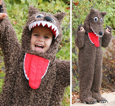 Como hacer disfraces de lobo feroz - Imagui