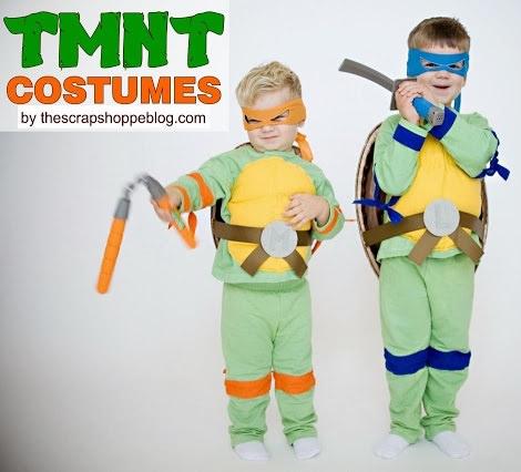 disfraz de tortuga ninja casero