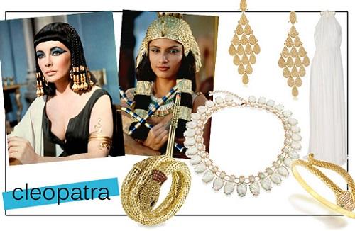 disfraz casero de egipcia; cleopatra