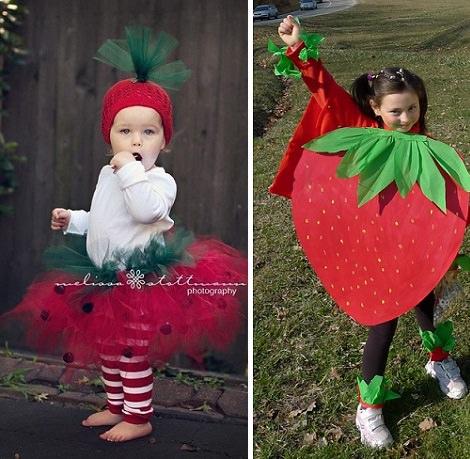 Haz Tu Disfraz De Fruta Casero Fresa Manzana Piña
