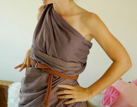 disfraz de griega o romana casero