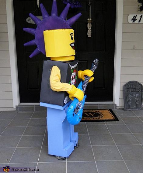 Disfraz de Lego musico