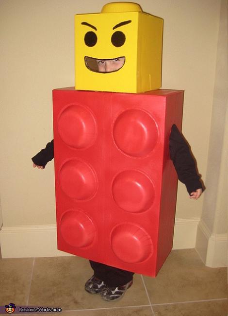 Disfraz de Lego para niño