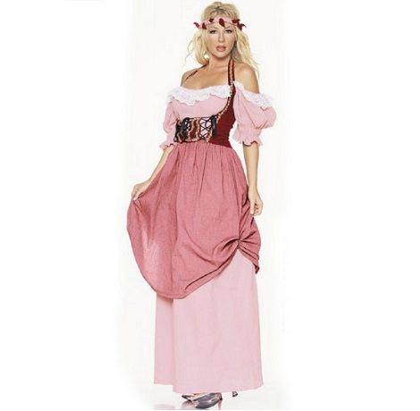 Como hacer un vestido medieval de mujer