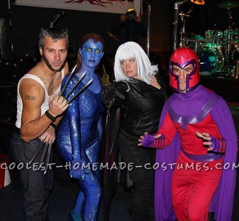 disfraz de x men para grupos carnaval 2014
