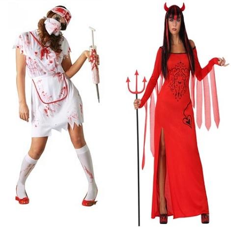 trajes de mujer baratos halloween 2013