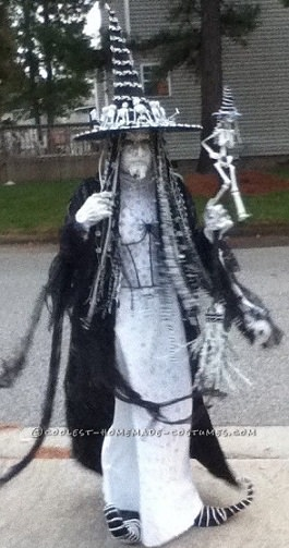 disfraz casero de bruja