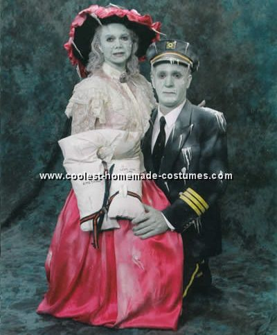 disfraz casero de titanic