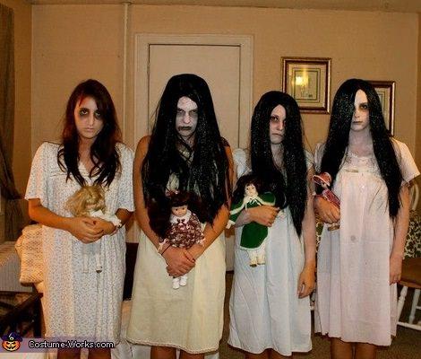 disfraces caseros para grupos halloween 2013 zombies