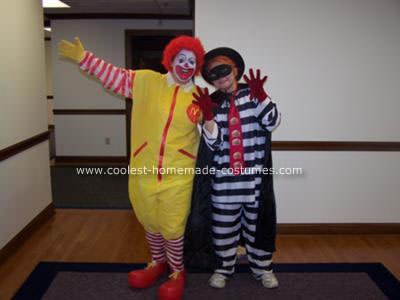 Disfraz de Ronald mcdonald adulto