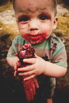 disfraz casero zombie