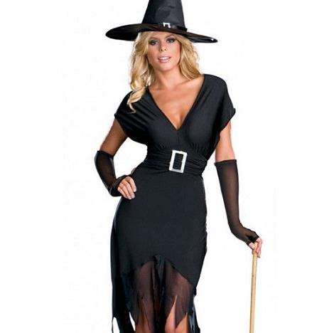 disfraces sexys halloween 2013 hechos en casa bruja