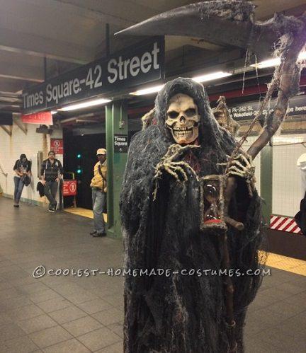 disfraz de halloween casero muerte