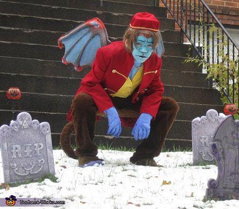 disfraz de mono volador halloween 2013