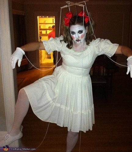 disfraz de marioneta casero halloween 2013