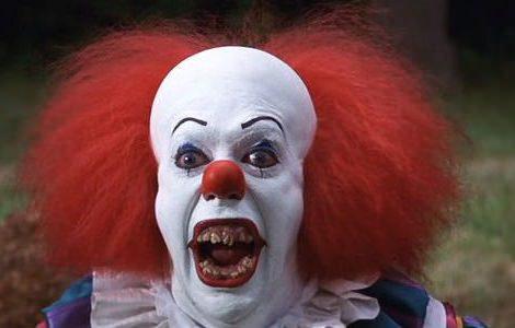 disfraz de payaso terrorífico de it para Halloween 2013