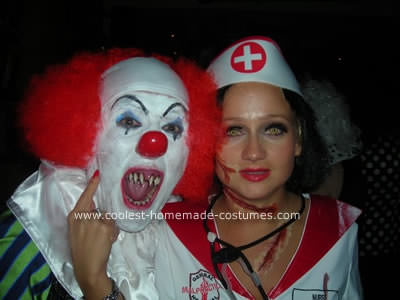 disfraz de payaso diabólico Halloween 2013