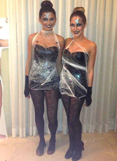 fabulous cool disfraz de tela de araa casero halloween with disfraces caseros de halloween para mujer with disfraces de halloween caseros para mujer
