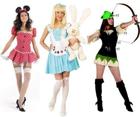 Disfraces baratos para mujer Carnaval 2013