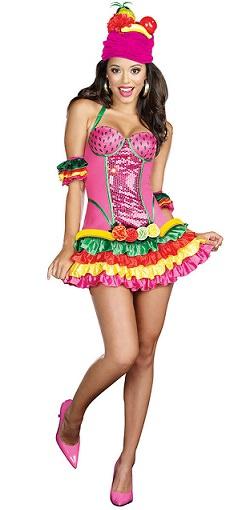 disfraz de tropical
