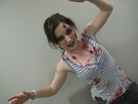 Disfraz de zombie fácil