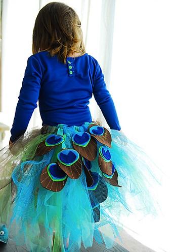 Cómo hacer un disfraz de pavo real casero paso a paso