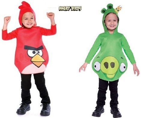 disfraz angry birds
