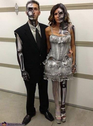 disfraz de calavera halloween 2014
