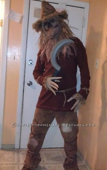 disfraz de espantapájaros halloween 2014
